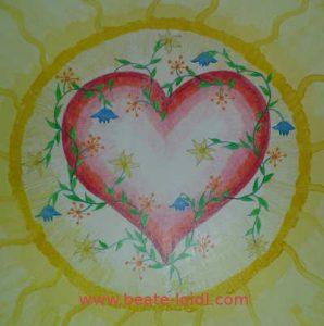Herzmandala - Malen von Mandalas